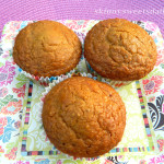 Orange Scented Chia Seed Muffins
