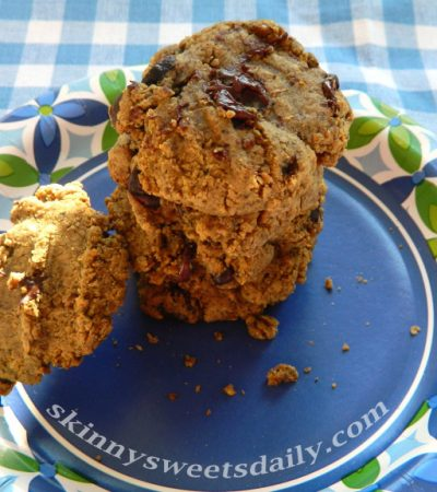 Wholesome Chocolate Chip Flax Cookies, Vegan & Gluten Free