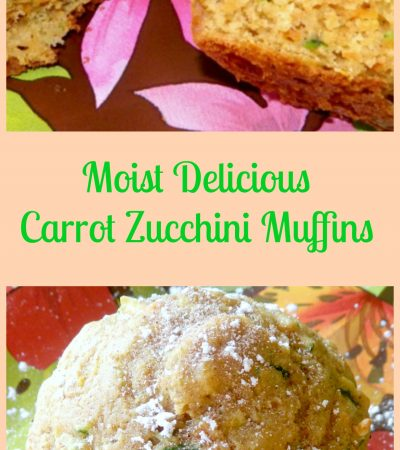 Moist And Delicious Zucchini Carrot Muffins
