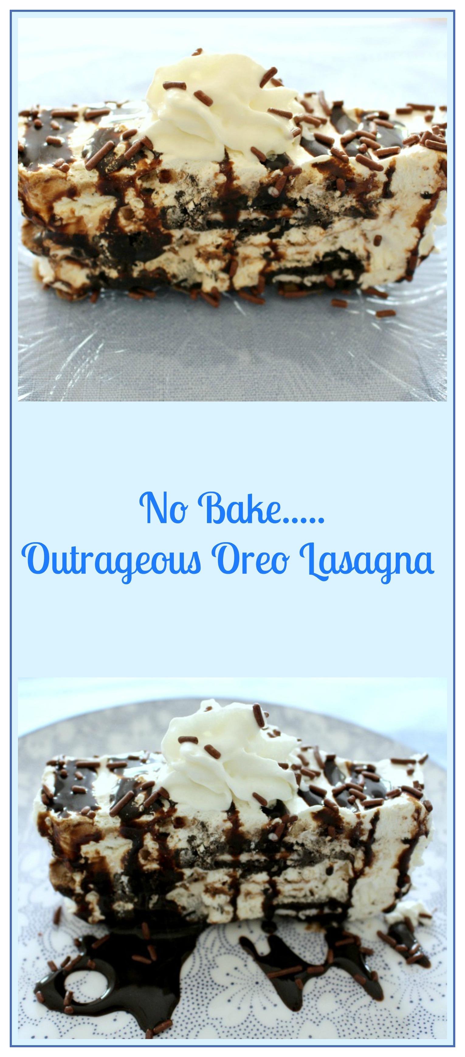 outrageous no bake oreo lasagna pams daily dish
