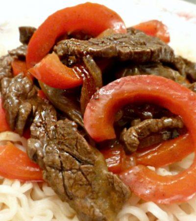 Beef Ramen Stir-Fry