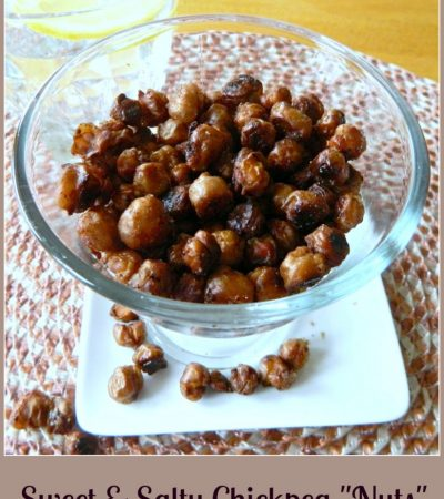"Sweet and Salty Chickpea ""Nuts"""