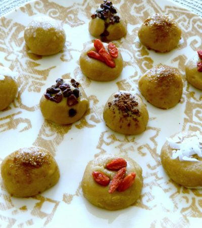 Frozen Raw Tahini Truffles