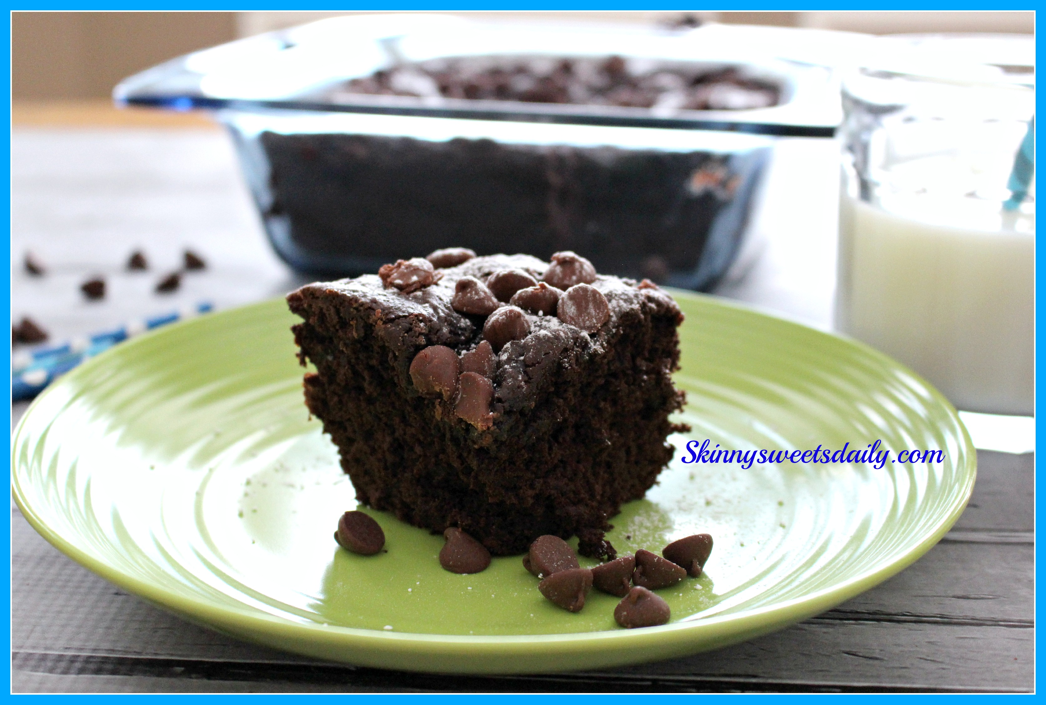 Chocolate Dump Cake With Instant Pudding