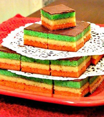 Classic Rainbow Cookies