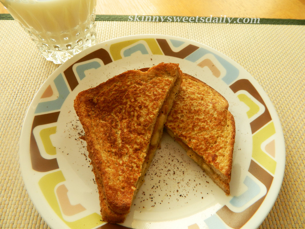 Favorite Skinny Peanut Butter And Banana French Toast