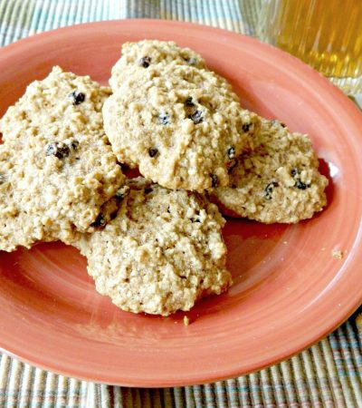 Lighter Old Fashioned Oatmeal Cookies