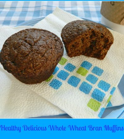 Moist And Delicious Healthy Bran Muffins