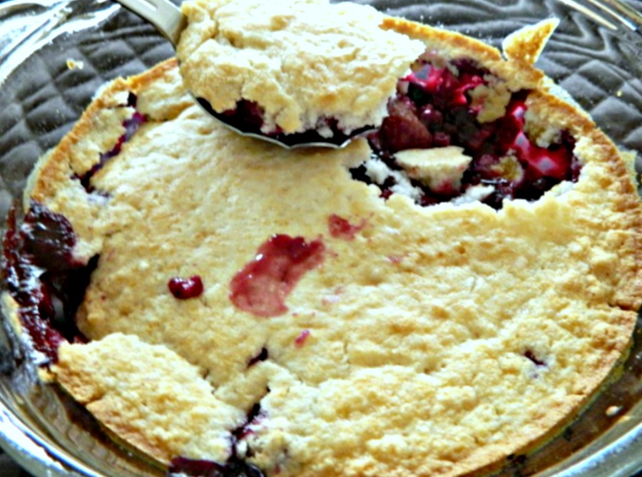 Berry Cobbler Using Yellow Cake Mix