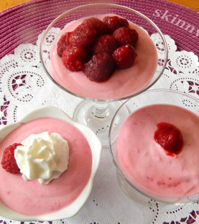 Rich and Fluffy Raspberry Mousse