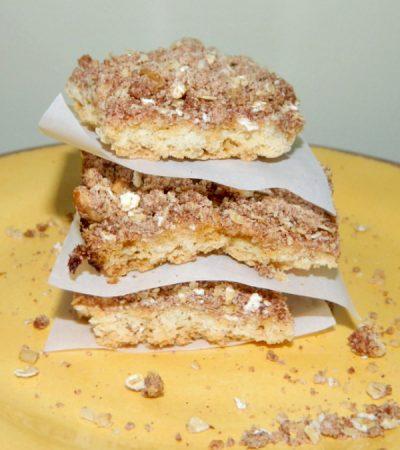Gluten Free Crumb Cake Bars
