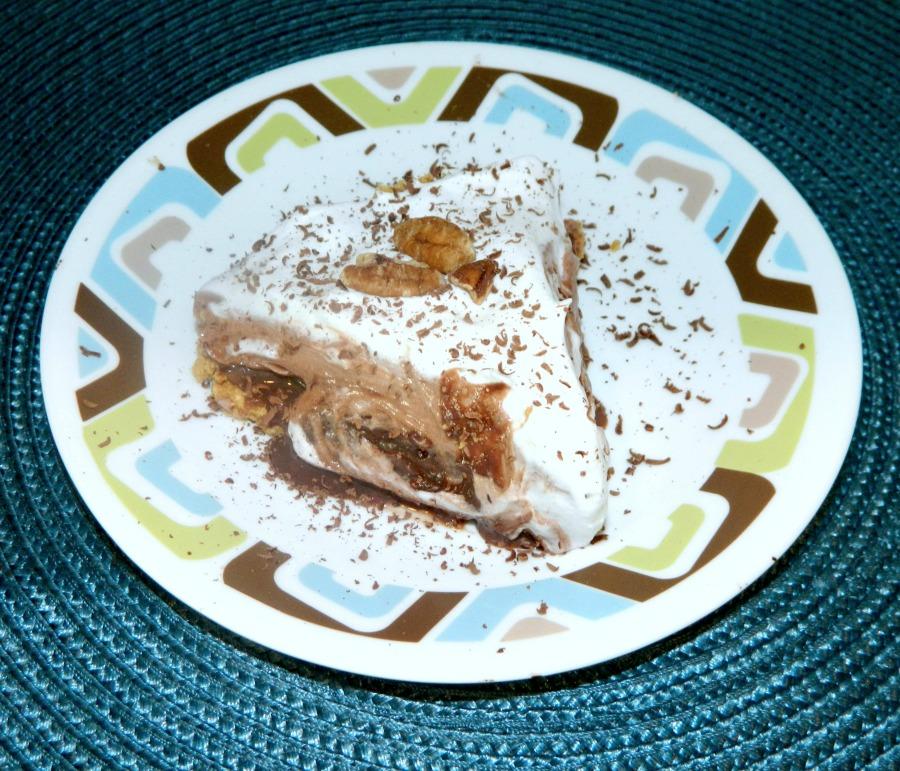 Luscious Multi-Layer Pecan Pudding Mud Pie - Pams Daily Dish
