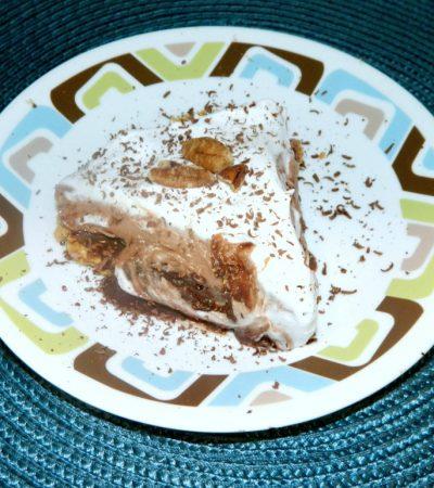 Luscious Multi-Layer Pecan Pudding Mud Pie