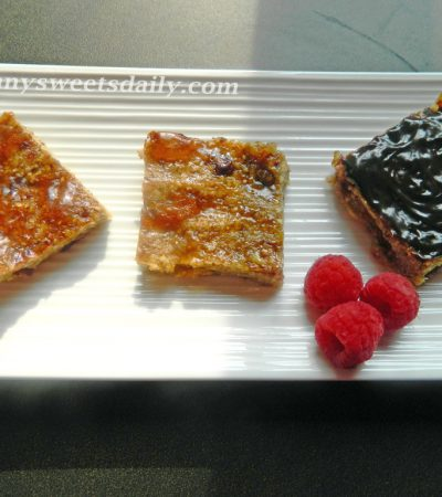 Healthy Vegan Oatmeal and Cranberry Bars