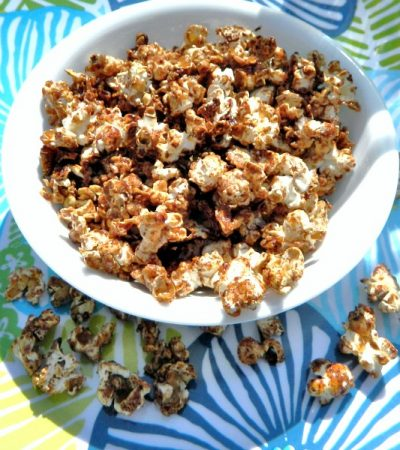 Shortcut Cinnamon Sugar Popcorn