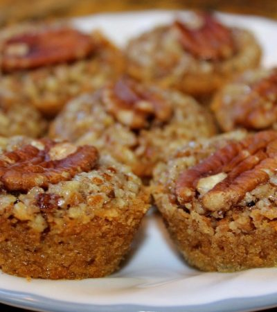 Crystal's Mini Pecan Pies