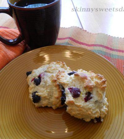 Blueberry Lemon Drop Biscuits / Scones