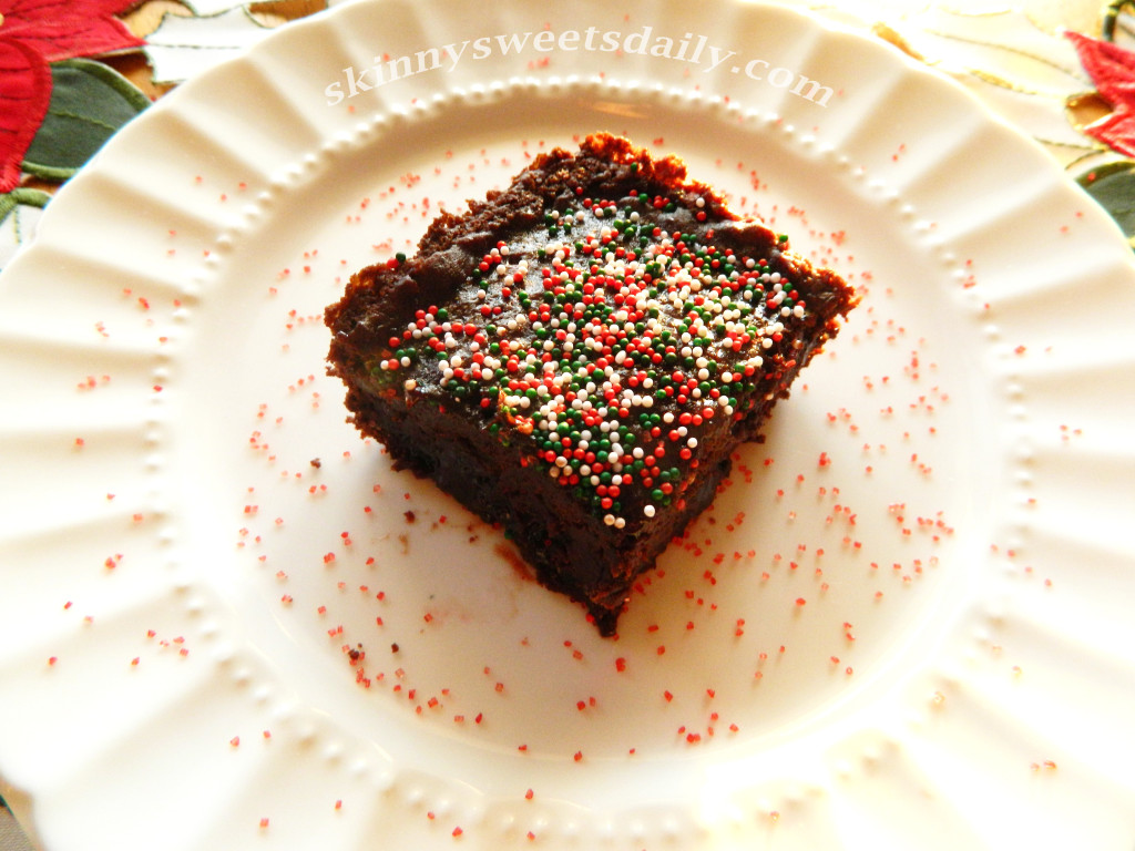 Black Bean Junior Mint Brownies