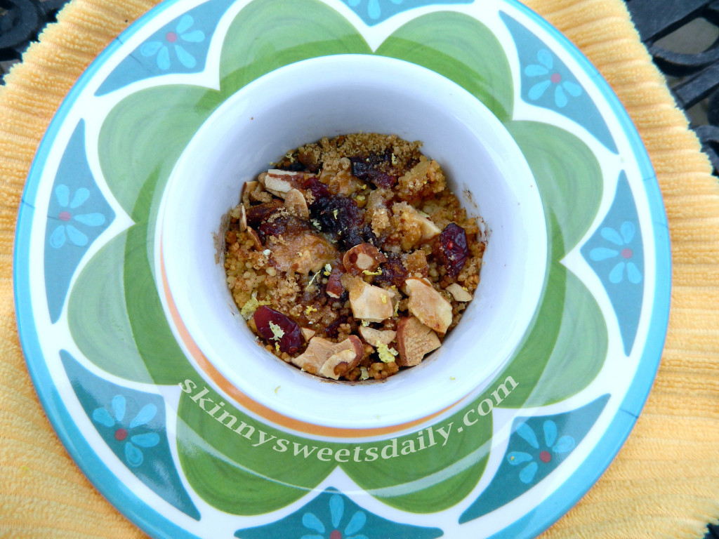 Skinny Dessert Or Anytime Couscous