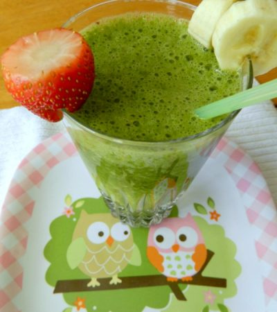 High Fiber Fruit Veggie Smoothie