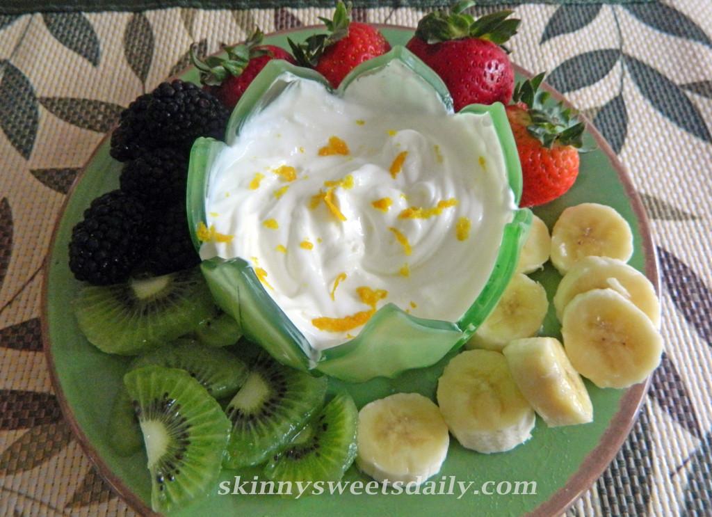 Light and Luscious Fruit Dip