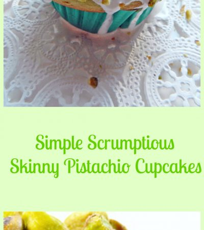 Simply Scrumptious Pistachio Cupcakes