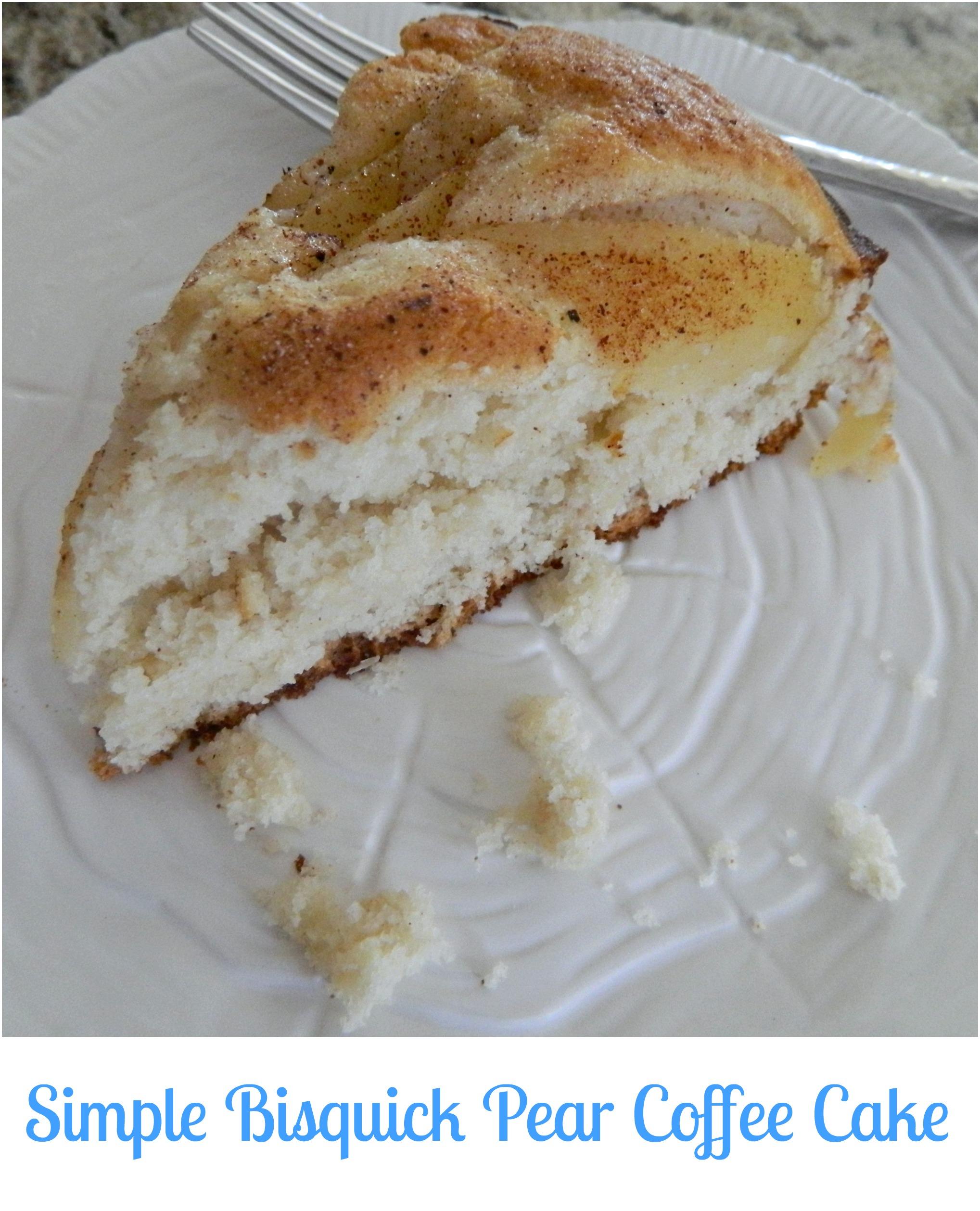 Bisquick Heart Smart Coffee Cake
