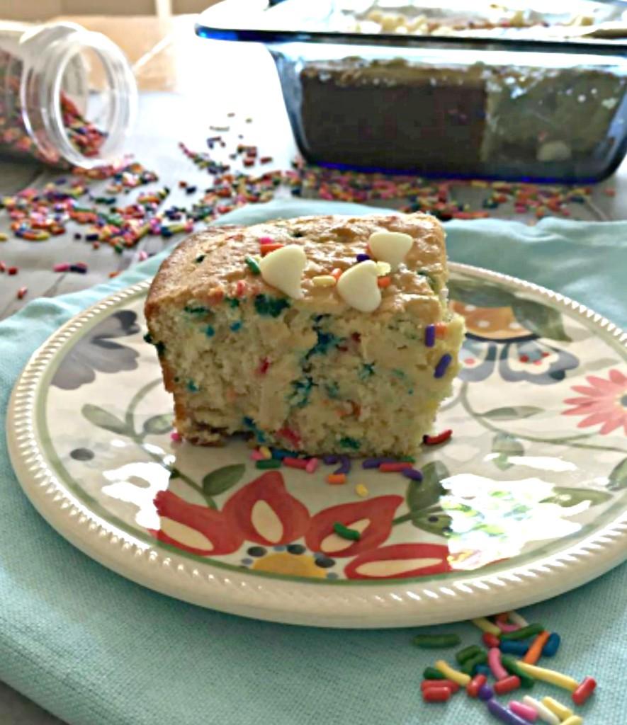 Funfetti Cake Mix Into Brownies