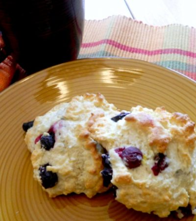 Bisquick Blueberry Lemon Scones