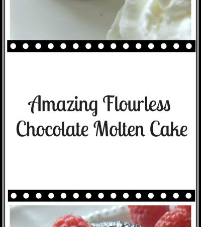 Mini Flourless Chocolate Molten Cakes