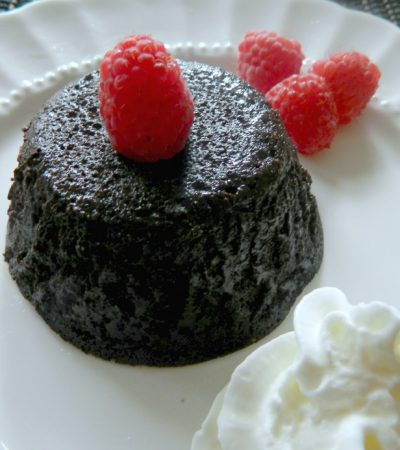 Amazing Flourless Chocolate Molten Cake