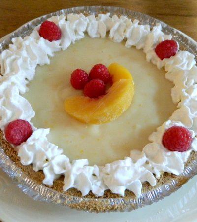 Silky And Creamy Citrus Pie