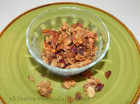 Healthy Cranberry Granola