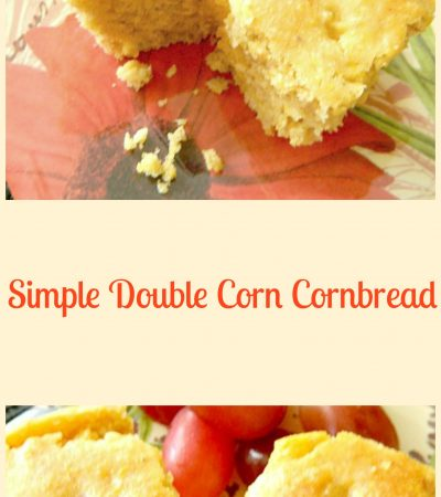 Simple Double Corn Cornbread