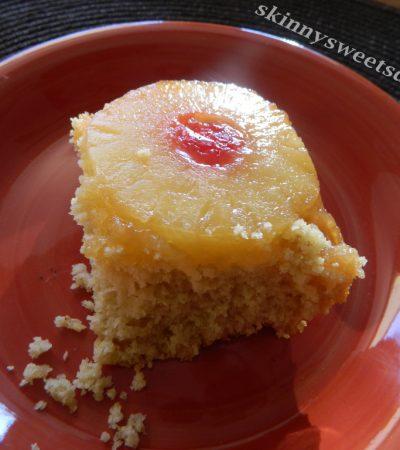Lighten Up Upside Down Pineapple Cake
