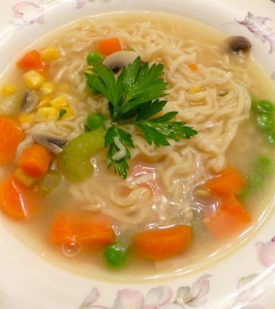 Home-Ec Ramen Soup