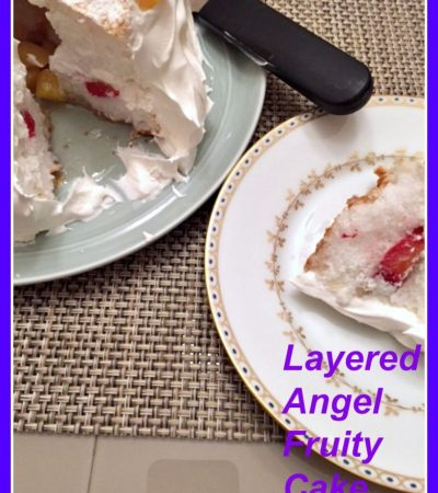 Layered Angel Fruity Cake