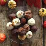 Spiced Cheesecake Truffles Made With Pumpkin