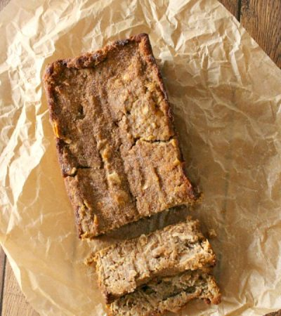 Easy Fresh Apple Loaf Cake