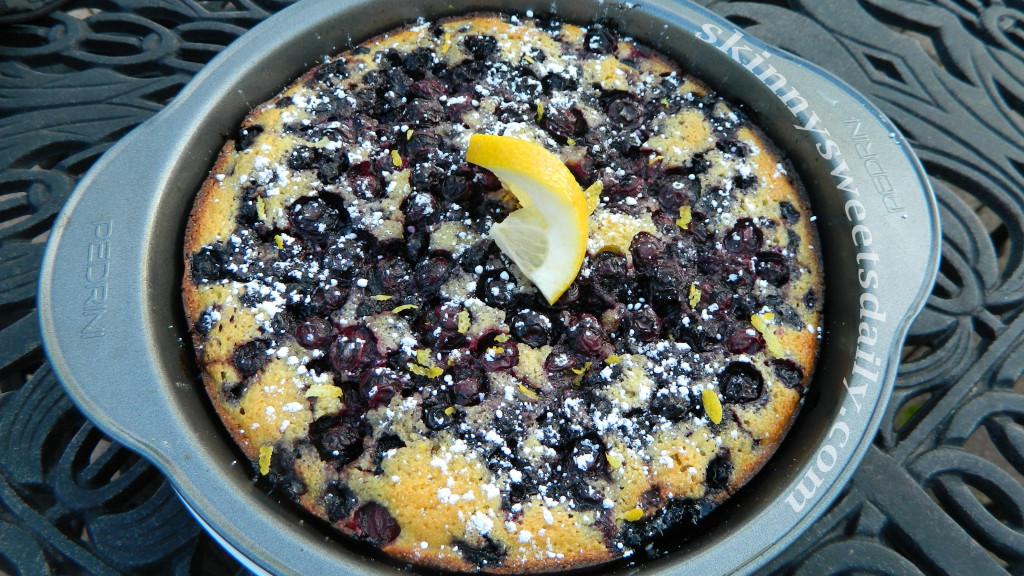 blueberry lemon crunch cake