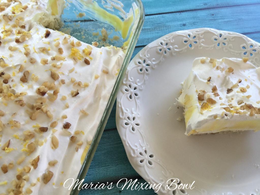 maria's lemon lush