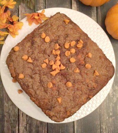 Cake Mix Spiced Pumpkin Dump Cake