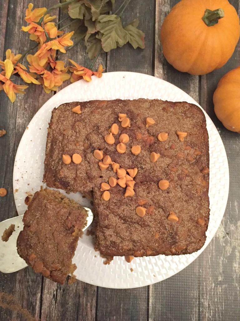cake mix pumpkin spice cake