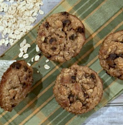One Bowl Loaded Oat Muffins-Gluten Free!