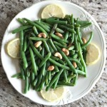 Sauteed String Beans and Cashews