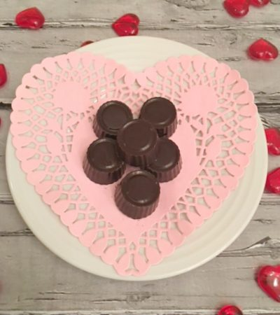 Simple Dark Chocolate Cherry Truffles
