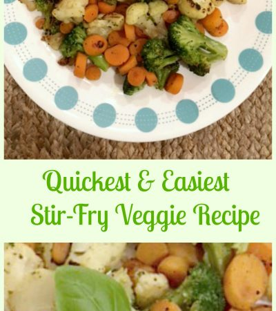 Quickest Stir-Fry Veggies – Healthy and Delicious