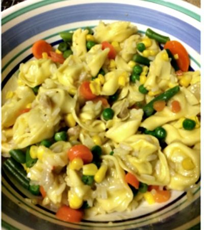 Easy Tortellini Rice Soup – What a College Girl Eats…