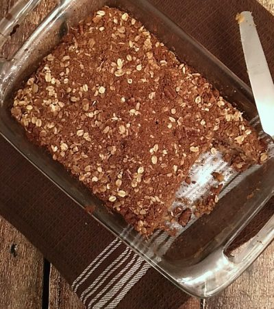 Most Delicious Cinnamon Crumb Cake -Gluten Free and Vegan