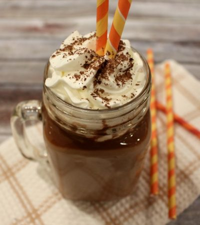 Chilled Nutella Latte